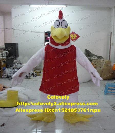 Foghorn Leghorn Cock Hahn Henne Huhn Chook Maskottchen Kostüm Erwachsene Charakter Verkäufe Leistung Unternehmen Kick-off Zz6901