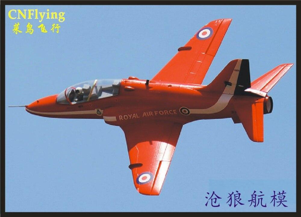 OEB avion RC avion/RC MODÈLE 70mm EDF SPORTIVE JET avion 1/9 BAE HAWK T.1 (kit ensemble ou forte PNP VERSION) rétractable