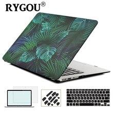 2018 מקרה חדש עבור Macbook רשתית 11 12 13 15 מחשב נייד מקרה כיסוי עבור Mac ספר פרו 13 15 עם מגע בר A1706 A1707 A1708