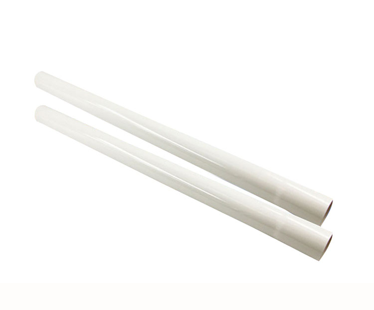Vacuum Cleaner Attachment Plastic Wand Tube Pipe Hose Tool Extension 45cm Accessory Kit(White)-2 Pieces high quality extension pipe hose soft tube