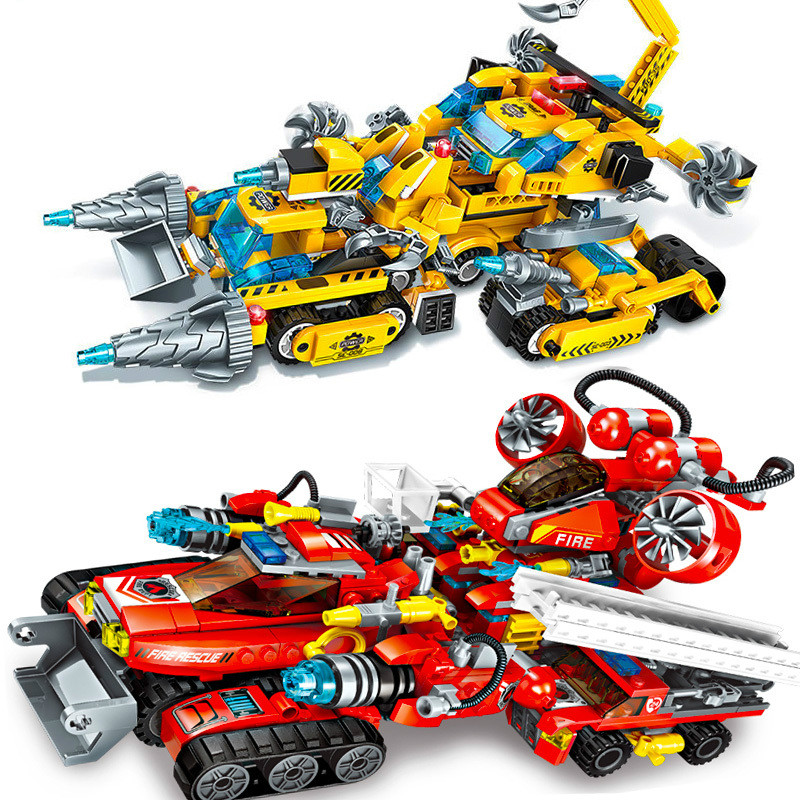 Building Blocks Technic City Engineering vehicle Models Building Kits Blocks Boy Toys For Chlidren Gifts.