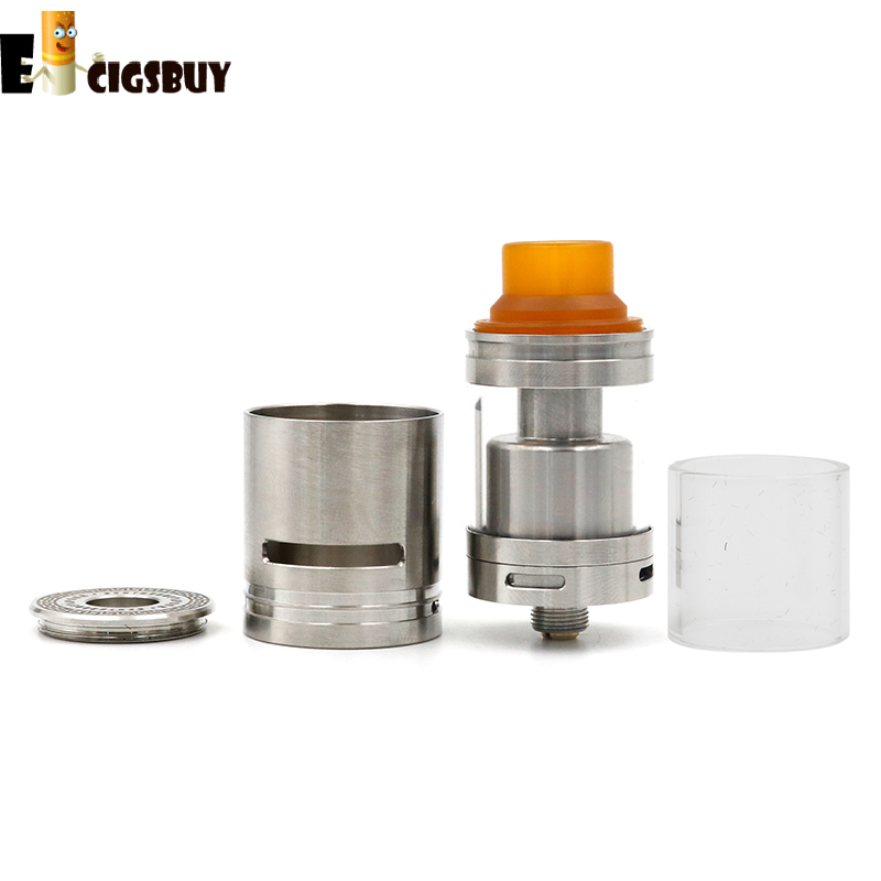 X5 RDTA RTA Stainless Steel TANK Vaporizer Atomizer Rebuildable DIY coil Electronice Ciagrette