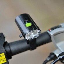 Leadbike Usb Rechargeable Bike Light Front Handlebar Cycling font b Led b font Light Battery font