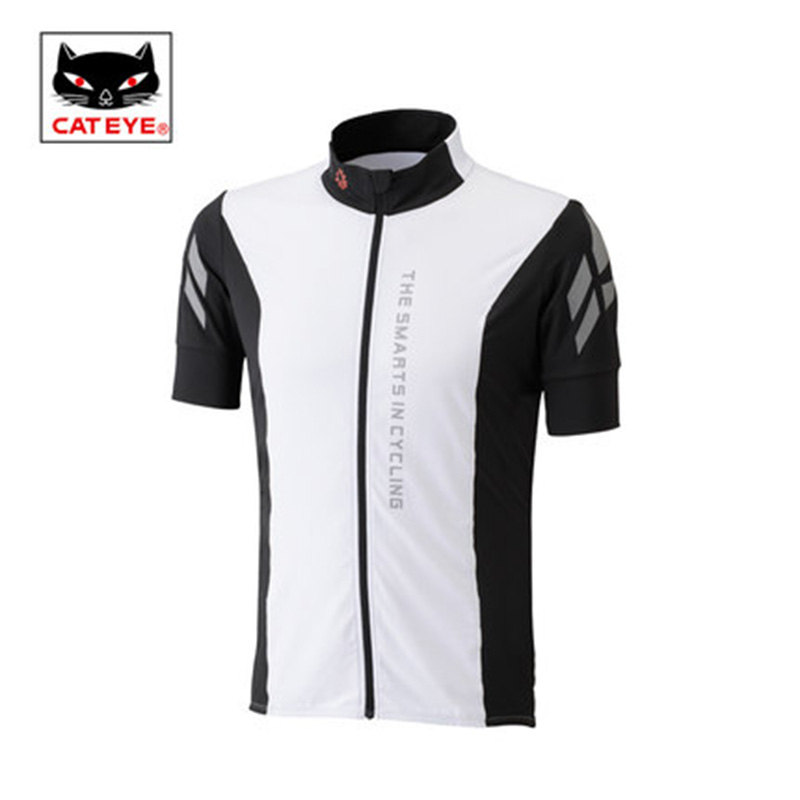 CATEYE Summer Cycling Jersey For Men Bike Bicycle Short Sleeves Shirts Blouse MTB Sports Clothes Motocross Jersey Ropa Ciclism men s slimming collarless bus printing short sleeves