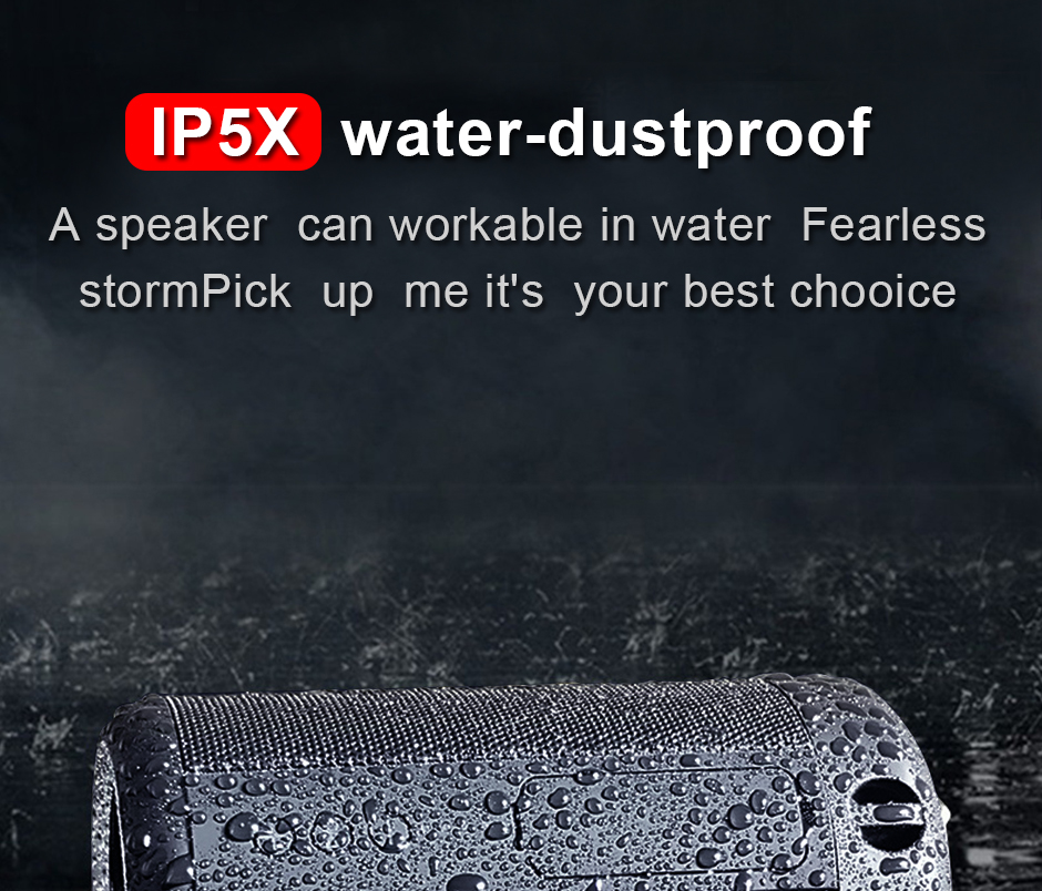 Opruide HiFi Waterproof Portable Bluetooth Speaker With 3D Stereo Music Surround And AUX For Smartphone 8