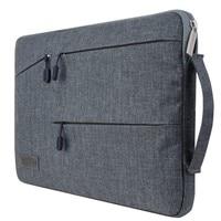 For Macbook Air Pro 11 13 15 Inch Sleeve Bag Carring Cases Dual Pocket Neoprene Zipper