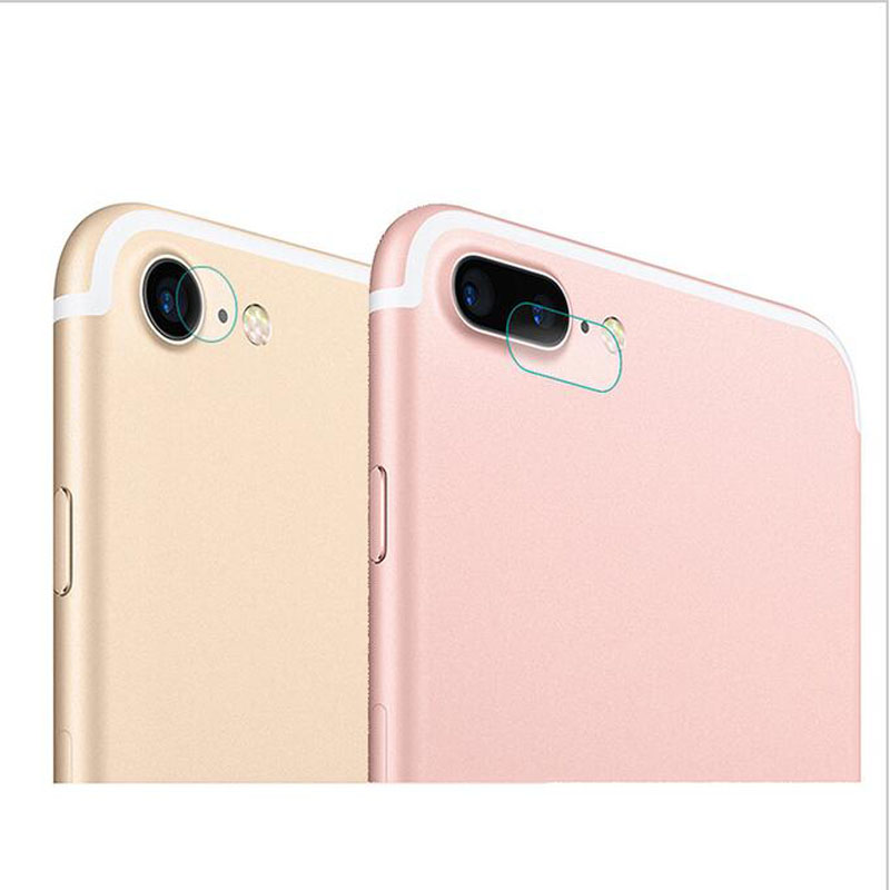 Tempered Glass Protector Full Cover Protection For iphone 7 plus 7plus Back Rear Camera Lens Screen Clear Protective Film Guard