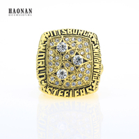 Factory Price 1978 Pittsburgh Steelers Football Championship Ring Custom Big Size 11 Replica Ring Sport Jewelry