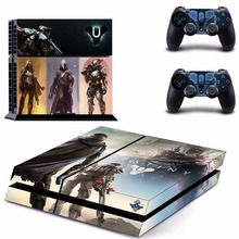 New Destiny vinyl Decal Skin Sticker For Sony Playstation 4 PS4 Console  +2Pcs Controller ( 5 patterns)