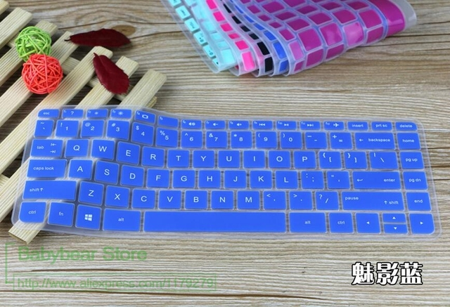 2016 New 14 For Hp Laptop Keyboard Silicone Skin Cover Stream Ax000ur Al125tx 14g 14q Aj002tx