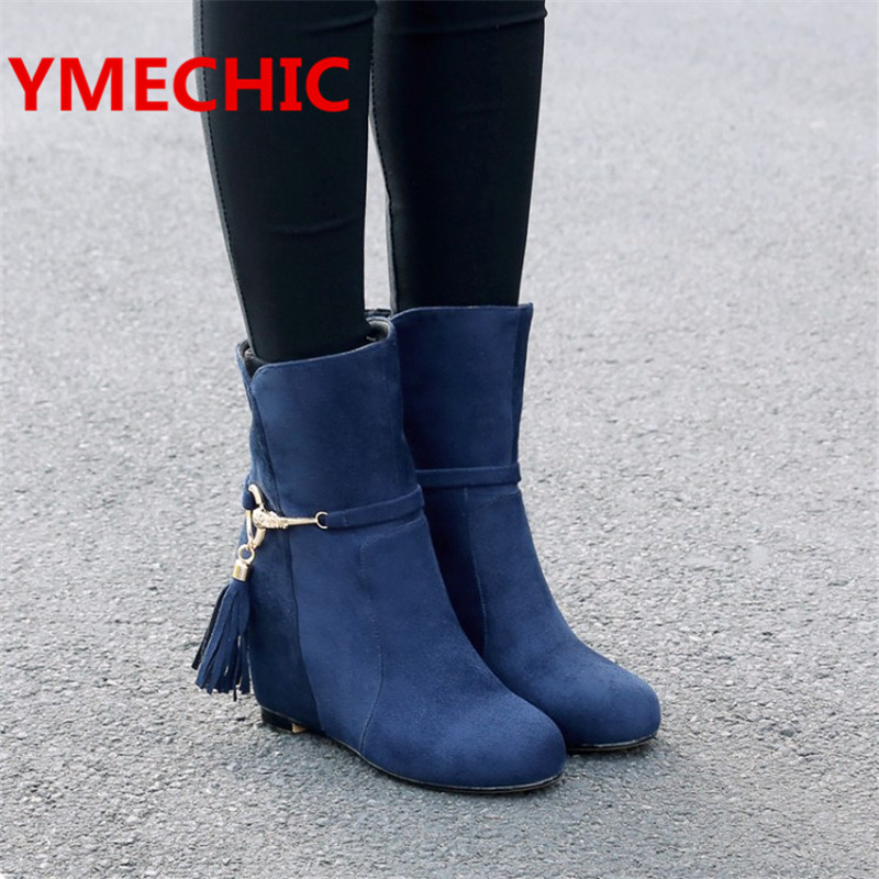 Popular Blue Fringe Boots-Buy Cheap Blue Fringe Boots lots from ...