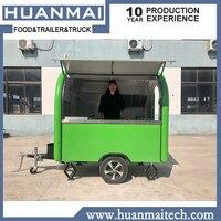 Мобильная кухня на колесах прицеп на заказ Закрытая концессия пищевые прицепы маленький кофе тележки для еды грузовик