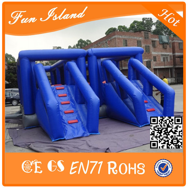 На открытом воздухе препятствий giant надувной спорт игра для