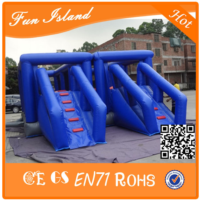 Popular outdoor obstacle course giant inflatable sport game for sale битоков арт блок p 460