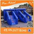 Populares exterior carrera de obstáculos gigante inflable deportes juego venta
