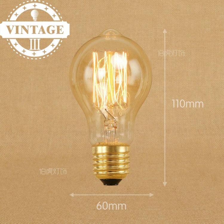 lightinbox e27 antique light clear glass 40w 120v220v edison bulb lamp vintage a19 - Antique Light Bulbs