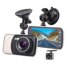 Ecartion Mini Videocamera per auto Video Recorder Full HD 1080 P Auto DVR 2 di Parcheggio Della Macchina Fotografica Dash Cam WDR Dell'automobile di Visione notturna videocamera Registrar