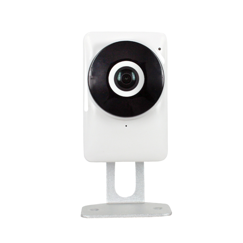 HD 720P 1.0MP Wifi IP Camera 180 Degree View Night Vision Mini Wireless Baby Monitor CCTV Smart Camera Security P2P,sn: EC1-G6 new 1080p wifi ip camera panoramic 180 degree view night vision mini wireless baby monitor 2 0mp cctv smart camera security