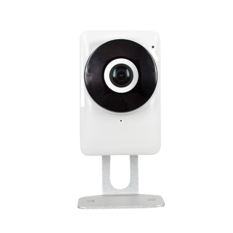 HD 720P 1.0MP Wifi IP Camera 180 Degree View Night Vision Mini Wireless Baby Monitor CCTV Smart Camera Security P2P,sn: EC1-G6