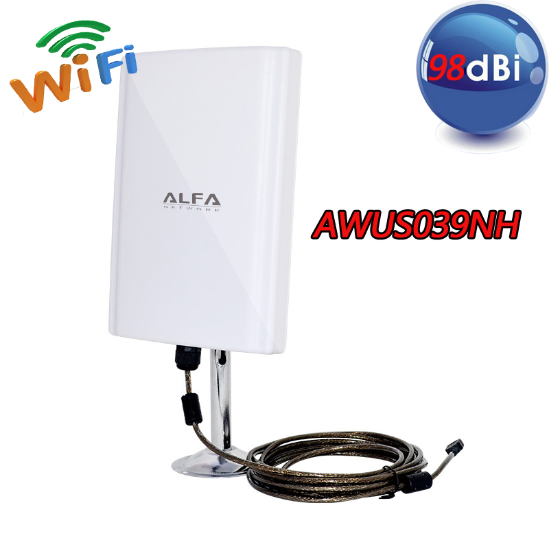 external USB Alfa wireless adapter - amazon.com