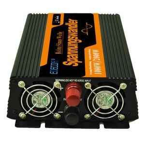 Image 3 - Onda Sinusoidale Pura Power Inverter 12V a 220V 1000 W di Picco 2000 W Convertitori di Frequenza di Alimentazione
