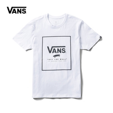 c73c39ae8ef0ff Original New Arrival Vans Men s Logo Short Sleeve T Shirt Cotton O-neck  Skateboarding Tops