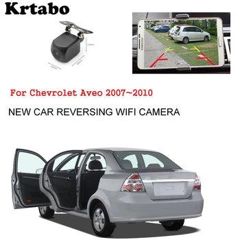 Car wireless rear camera For Chevrolet Aveo 2007~2010 reversing HD camera CCD night vision waterproof high qualit