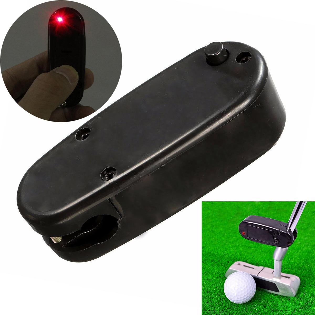 2017 Mini Black Golf Putter Laser Pointer Putting Training Aim Line Corrector Improve Aid Tool Golf Practice Accessories