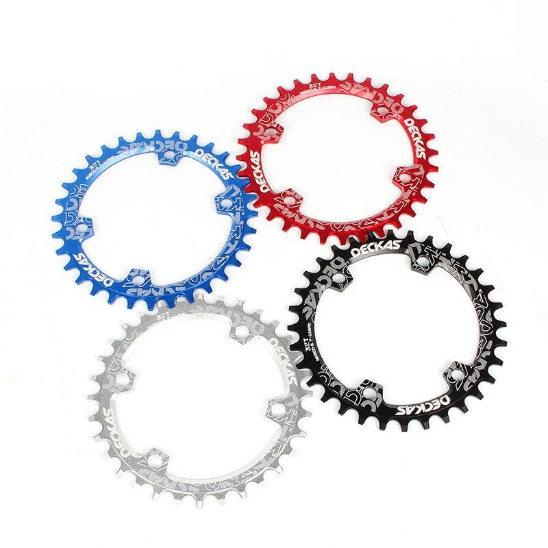DECKAS rodada anel cadeia MTB Mountain bike bicicleta ccrankset placa prato BCD 96mm 32-38T para 7-11Speed m7000 M8000 M9000