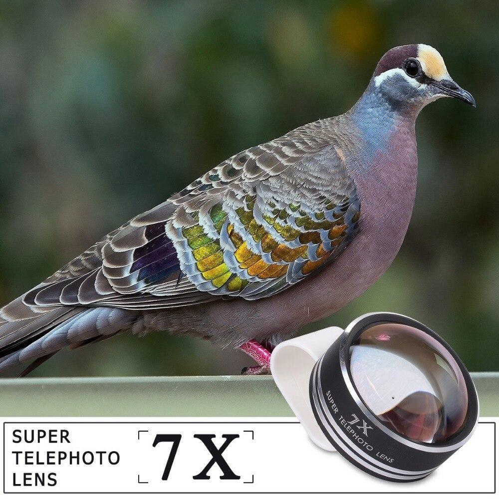 bilder für APEXEL Clip 7X Tele Zoom Zoom-handy-teleskop-objektiv für Samsung Galaxy iphone6 PLUS nokia HTC Motorola Huawei APL-7XST