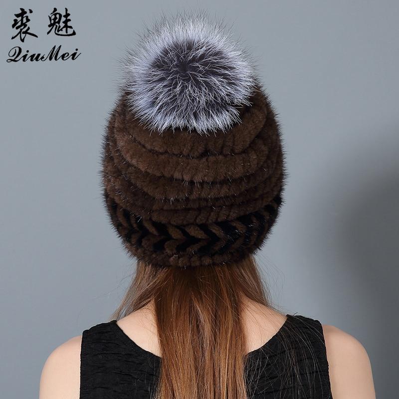 QiuMei Ženske klobuke iz naravne kože iz umetne kože Novo bežice - Oblačilni dodatki - Fotografija 6