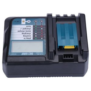 Image 5 - 14.4V 18V Li Ion Battery Charger Voltage Current Lcd Digital Display For Makita Dc18Rf Bl1830 Bl1815 Bl1430 Dc14Sa Dc18Sc Dc18