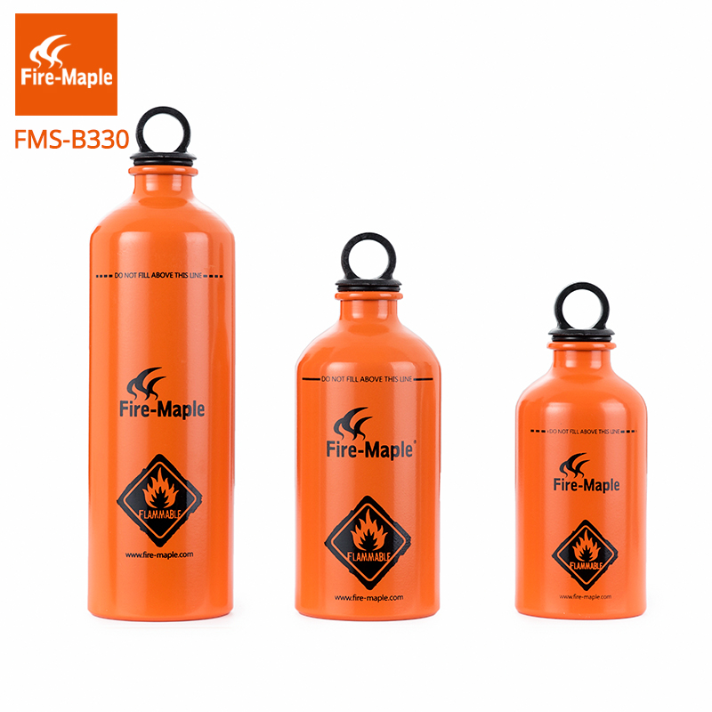 Fire Maple Outdoor Camping Portable Aluminum Gasoline Bottle liquid Fuel Spare Fuel Bottle fire maple fmw 503 colorful portable 9 section windshield