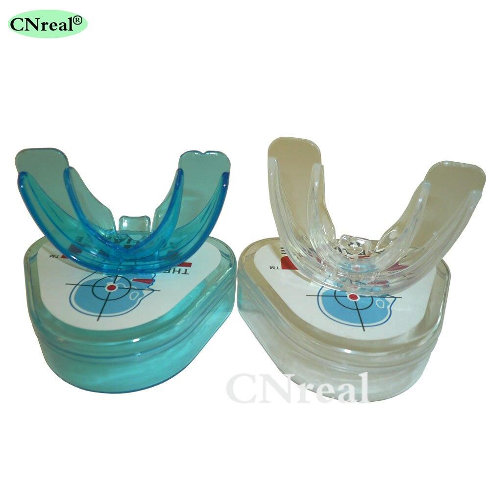 2 peças/set adulto dentes dentários aparelho de retenção ortodôntico dentes trainer cintas (duro e macio)