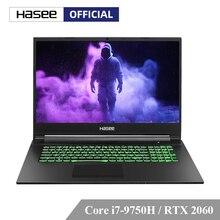 Ноутбук hasee G8-CT7NA для игрового I7-9750H+ RTX2060