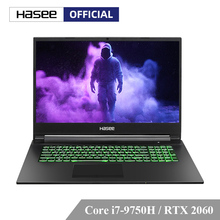 "Hasee G8-CT7NA Laptop for Gaming (Intel Core I7-9750H+RTX 2060/8GB RAM/512G SSD/17.3"" IPS 144Hz 72%NTSC)  Hasee-branded notbook"