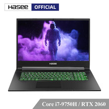 Hasee G8-CT7NK Laptop untuk Gaming (Intel Core I7-9750H + RTX 2060/16GB RAM/256G SSD + 1T HDD/17.3 ''IPS 144 HZ 72% NTSC) hasee Notbook(China)