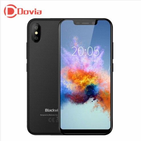 Blackview A30 3g Smartphone 5.5 pouce Android 8.1 MTK6580A Quad Core 1.3 ghz 2 gb + 16 gb 8.0MP + 0.3MP Arrière Caméra Visage ID Téléphone Portable