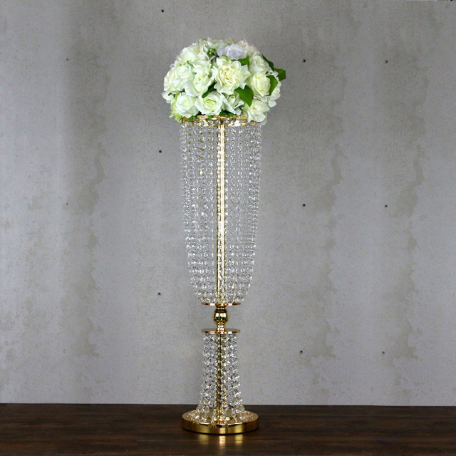 wedding flower vase flower stand Table centerpieces for wedding Party supply 1