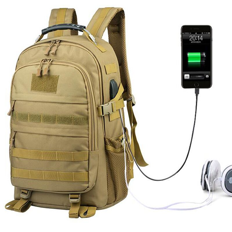 USB Charging Military Molle Army Bag Tactical Backpack 30L Mochila Militar 15 inches Laptop Rucksack For Outdoor Camping Hiking in Climbing Bags from Sports Entertainment