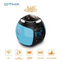 OTHA 360 Camera Ultra HD 4K Panoramic Camera Build In WI FI 360 Degree Video Camera