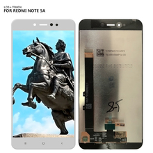 Free Shipping For Xiaomi Redmi Note 5A Note5A 2GB Version Lcd Display Digitizer Touch Screen Assembly Repair Part