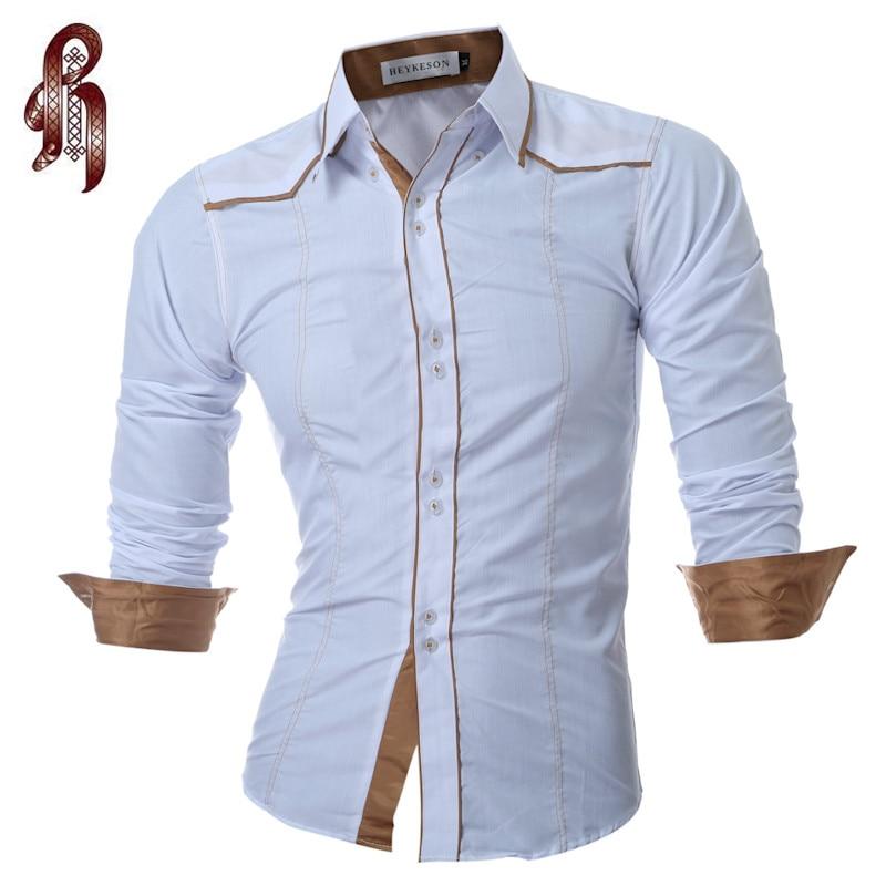 Мужская рубашка HEYKESON 2017 XXL DNVK