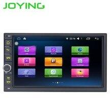 "Joying Quad Core 7 ""1024*600 2 Din Android 6.0 Car Radio Audio Stereo Support GPS TV 3G WiFi Universal GPS Navigation Head Unit"