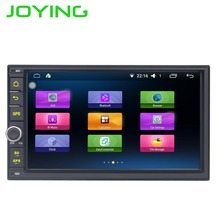 "Joying Quad Core 7 ""1024*600 2 Din Android 6.0 Car Radio Audio Stereo Support GPS TV 3G WiFi Universal GPS Navigation Head Unit"