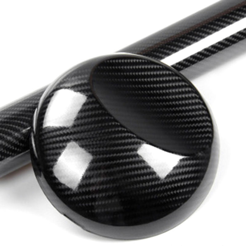 7D Premium High Gloss Carbon Fiber Vinyl Wrap Bubble Car Decal Replaces Part