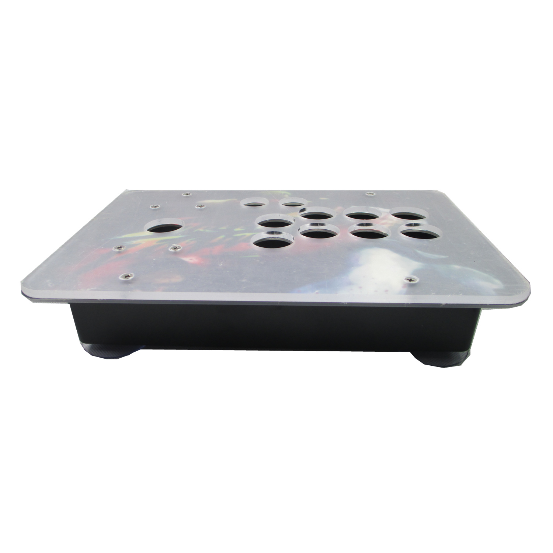 Cdragon arcada joystick caso material acrílico caixa