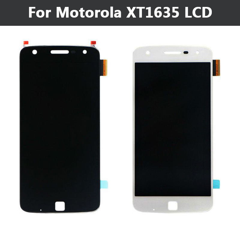 все цены на  New LCD Display For Motorola Moto Z Play Droid XT1635 LCD Display Touch Screen Digitizer Assembly Replacement Part  онлайн
