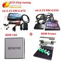 DHL бесплатная доставка Kess v2.30 + Ktag + BDM 100 + BDM Рамка ECU диагностические инструменты с самым лучшим ценой и хорошее качество