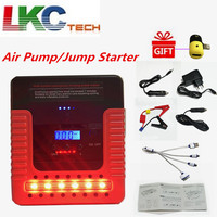 New Starting Device Digital display Car Jump Starter Air Pump Car Starter TM16A For Car Battery Charger Perfect Air Compressor